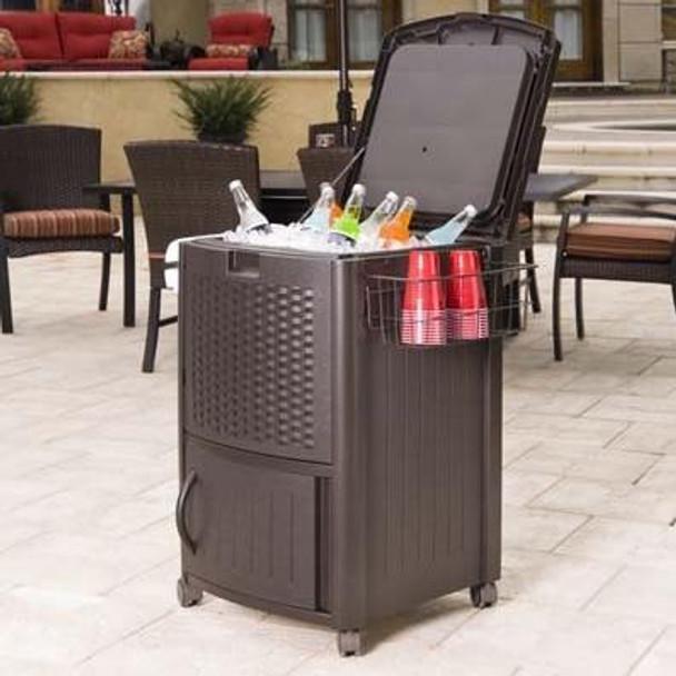 Suncast Cooler Station Patio Cooler