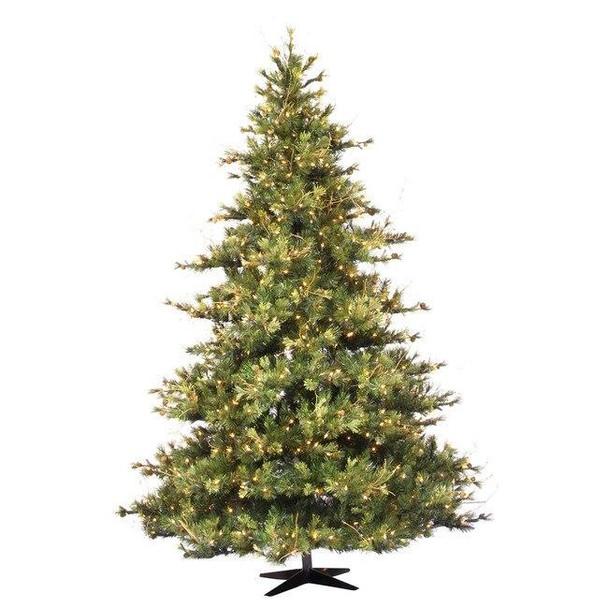 Vickerman Company Vickerman 7.5 ft Mixed Country Pine Pre-Lit Christmas Tree
