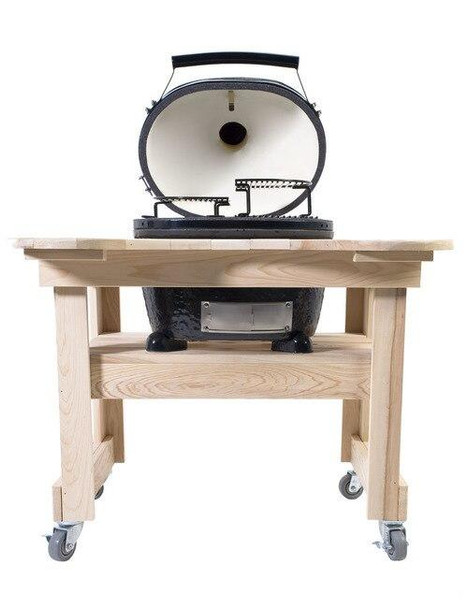 Primo Grills and Smokers Primo Grill Cypress Table for Oval Junior