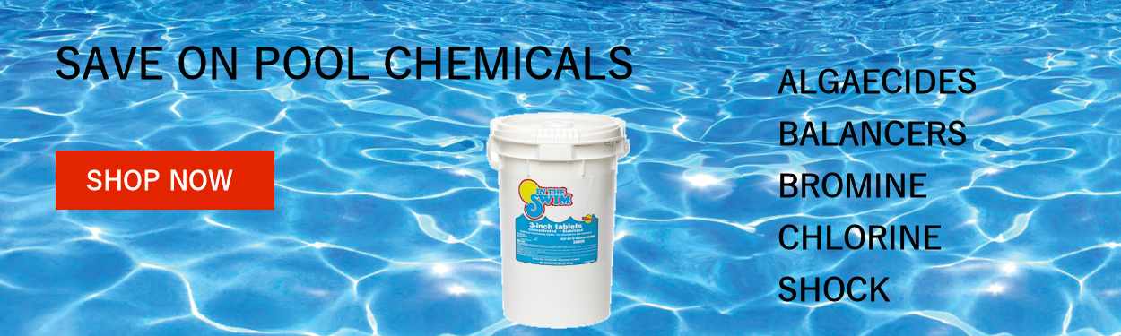 Pool Supplies, Pumps, Filters, Chemicals, Spa Supplies and more