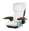 ANS-P20 Chair Top, white with tiffany blue