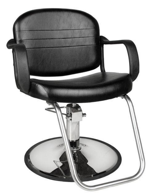 Jeffco Hair Salon Furniture Styling Chair, REGENT 681.0.G