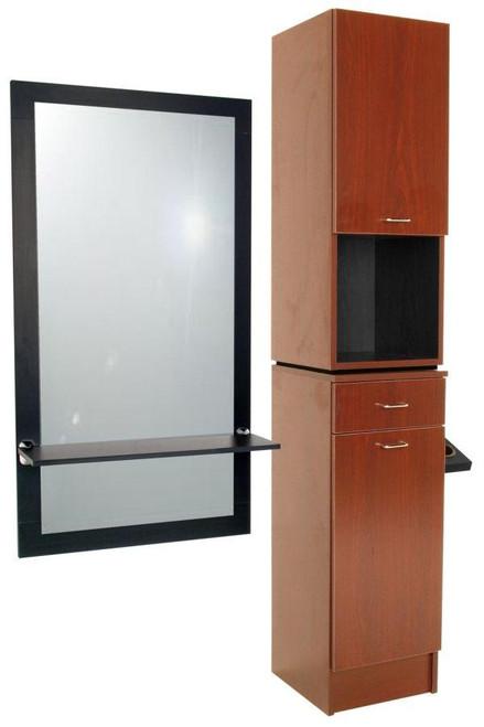 Jeffco Hair Salon Furniture Styling Station, Tower, J09 JAVA