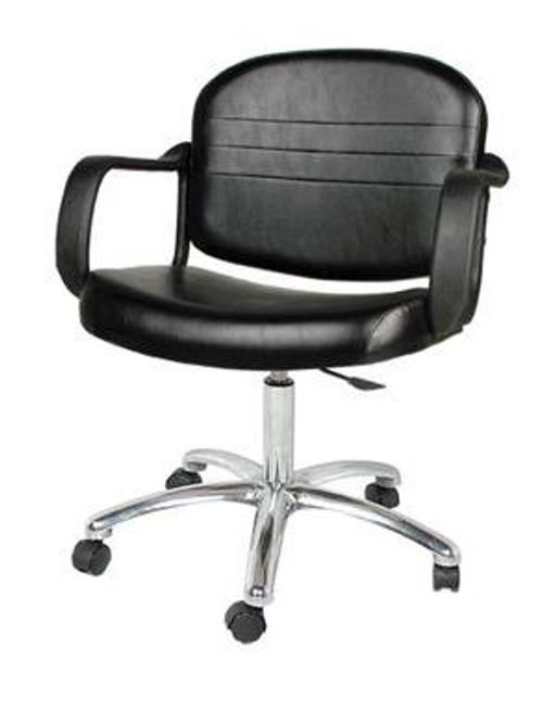 Jeffco Salon Equipment Armed Task Chair, 681.4.0 REGENT