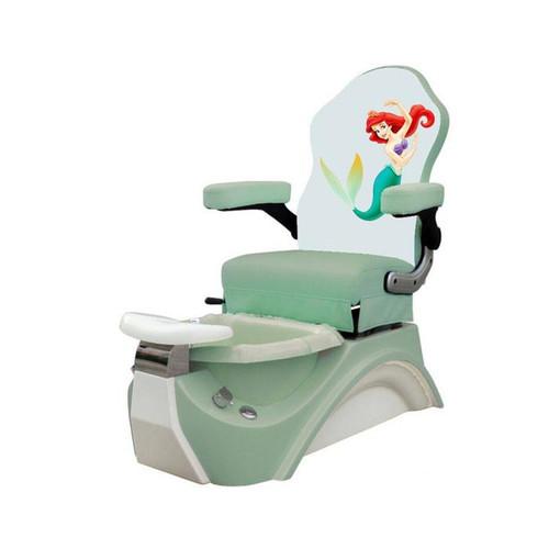 Mayakoba Kids Pedicure Spa Chair, LITTLE MERMAID