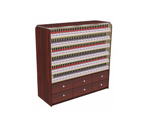 Mayakoba Nail Polish Display Cabinet AVON I with Drawers
