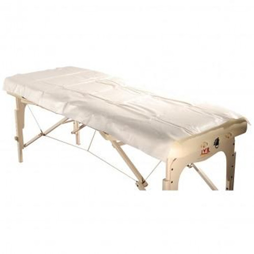 Master Massage, Massage Table Sheet Poly-Backing Disposable (10-Pack)
