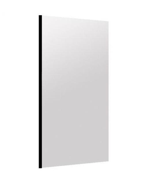 Deco Salon Furniture Wall Mount Mirror, JACKLYN, black
