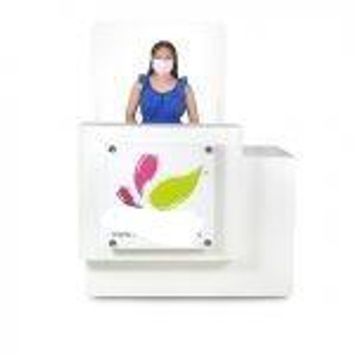 ANS Nail Salon Virus Protection Screen, Reception Desk, ACRYLIC