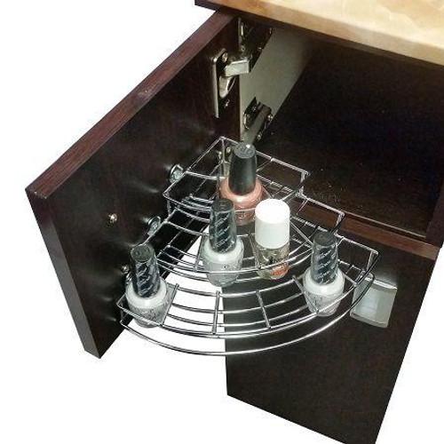 Deco Salon Furniture Manicure Table Parts, Nail Polish Rack