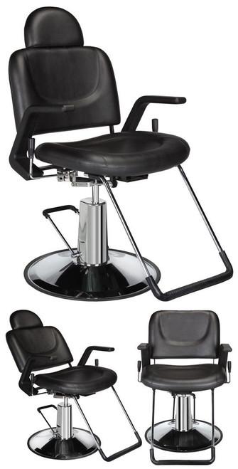 Jeffco Hair Salon Furniture All Purpose Chair, HICKORY II 6017.1.G