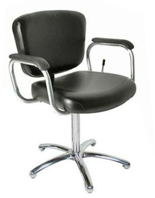 Jeffco 606.3.L Aero Lever-Control Shampoo Chair w/ Pedestal Base