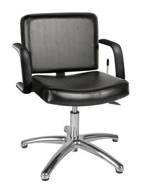 Jeffco 611.3.L Bravo Lever-Control Shampoo Chair w/ Pedestal Base