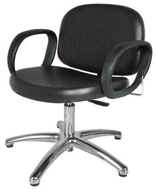Jeffco 604.3.L Contour Lever-Control Shampoo Chair w/ pedestal base