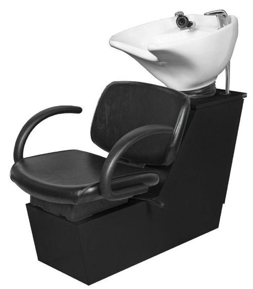 Jeffco Salon Furniture Shampoo Backwash Station + Bowl, PARKER