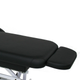 Touch America Massage Table Full Footrest, Black