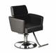 Deco Salon Furniture All Purpose Chair, ORIAN, black with gray