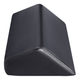 DIR Wedge Bolster, A0230, Black, Front View