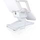 ANS Salon Furniture Facial Beauty Chair, 3 Motor, White, Base View