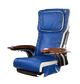ANS-P20 Chair Top, blue with white