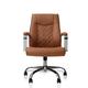 J&A Nail Salon Furniture Customer Chair MONOCO, PU Leather Cappuccino