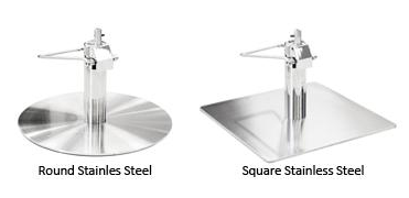 Stainless Steel Chair Base Upgrades