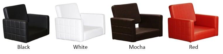 Fab Shampoo Chair Colors