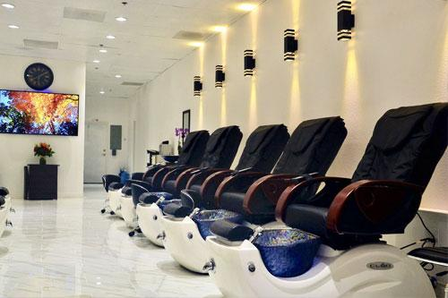 Pedicure Chairs at a Spa
