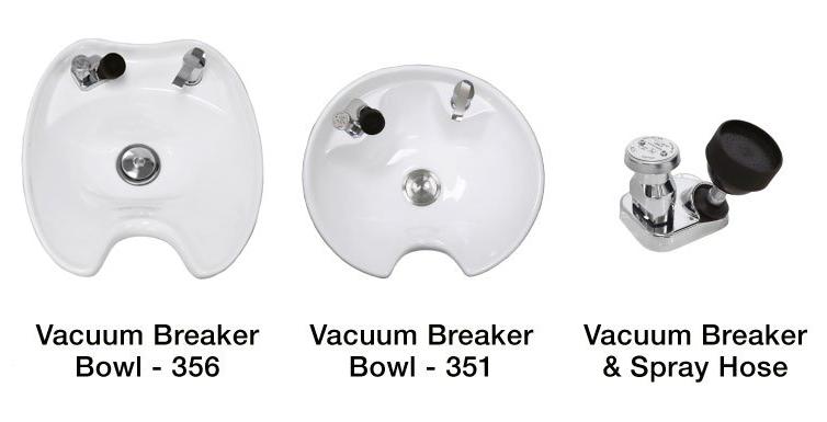 Shampoo Bowl Options