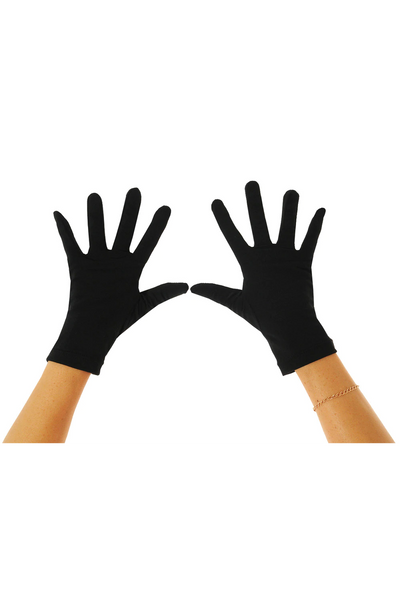 Women & Men Swim UV Gloves Sun Protective UPF50+ Black (Chlorine Resistant)