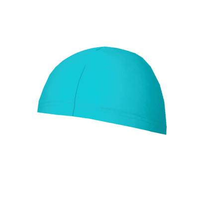 Swim Cap Sun Protective UPF50+ Blue Aqua (Chlorine Resistant)