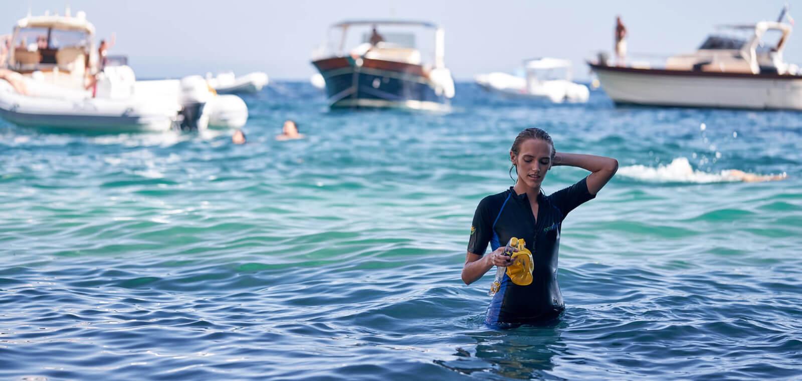 Full Body Swimsuit Stinger Suit Dive Skin UPF50+ Cover