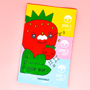 Runaway strawberry Seed 3-Step Nose Pack