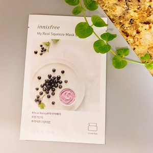 My Real Squeeze Mask EX  - Acai Berry