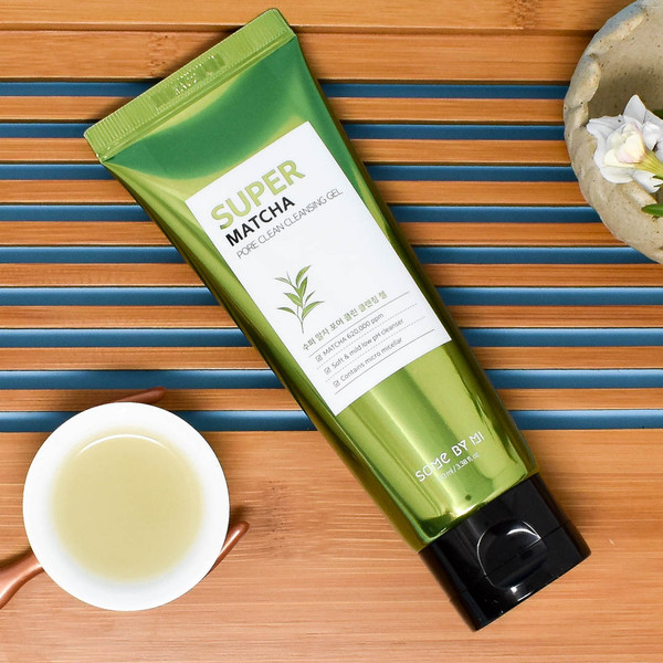 SOME BY MI - Super Matcha Pore Clean Cleansing Gel