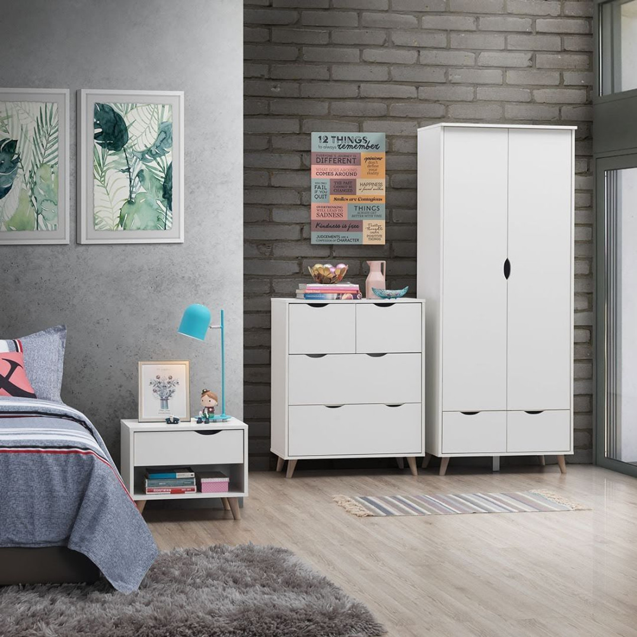Pulford 3 Piece Bedroom Set Free Delivery Own Furniture