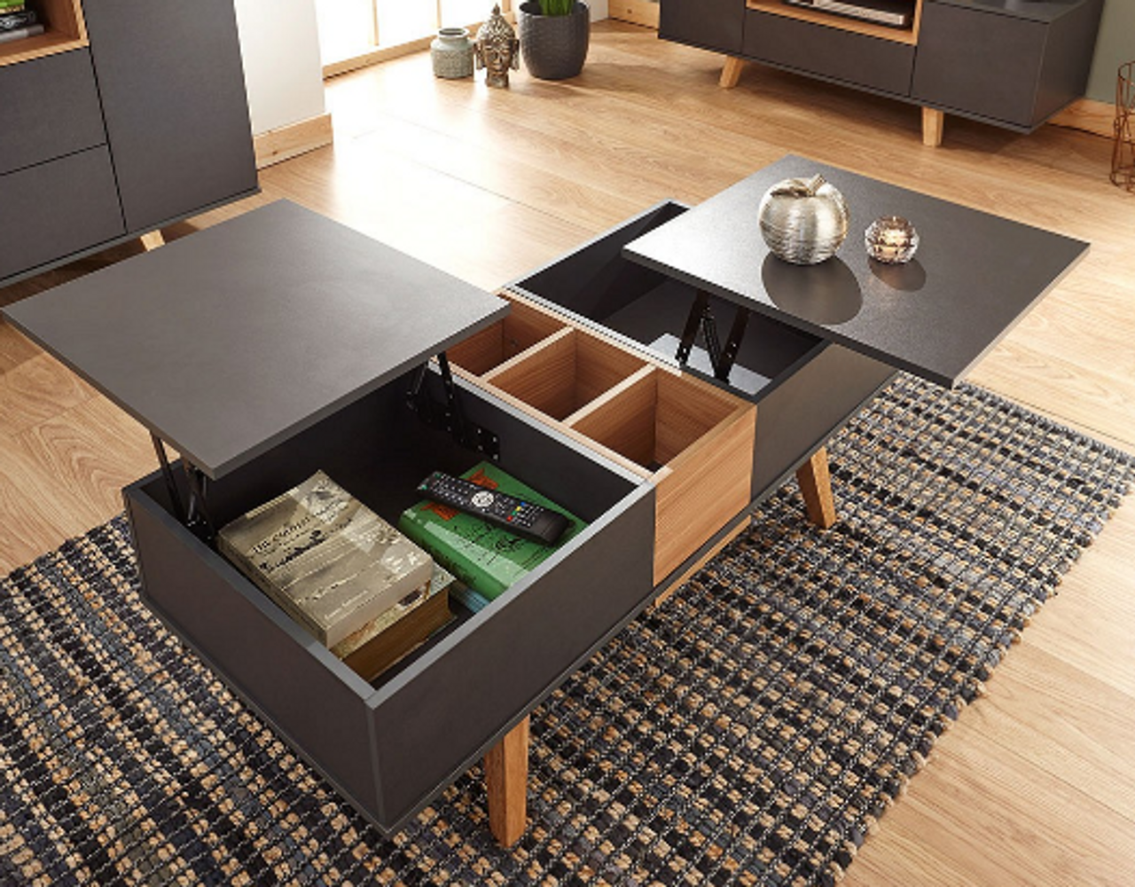 Modena Double Lift Up Coffee Table Free Delivery Own Furniture