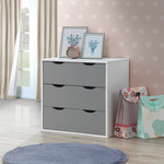 Alton Grey & White Bedroom Set