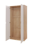 Alton Oak & White Bedroom Set
