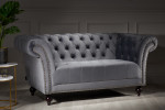 Chester Grey 2 Seater Sofa