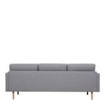 Larvik 3 Grey Seater Sofa with Oak Legs