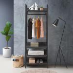 Zahra 4 Piece Bedroom Furniture Set in Black
