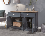 Kendal Slate Blue Large Sideboard