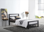 City Block Bed Black