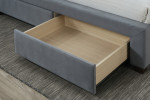 Hope Bed with Storage Drawers