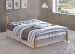 Tetras Silver Metal Bed