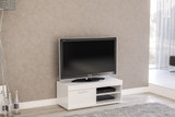 Edgeware White Small TV Unit