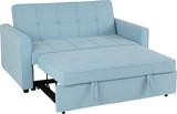 Astoria Light Blue Sofa Bed