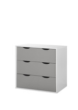 Alton Grey & White 3 Drawer Chest