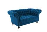Chester Midnight Blue 2 Seater Sofa